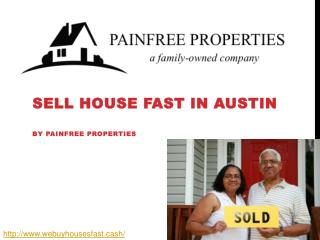 Sell House Fast in Austin - Webuyhousesfast
