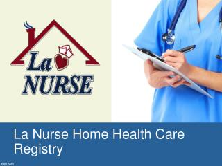 Home Health Care West Palm Beach