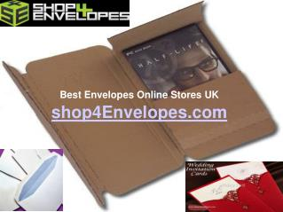 Visit Excellent Invitation Envelopes Stores Online