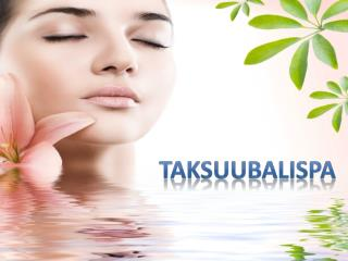Spa Services and Treatments-Taksuubalispa