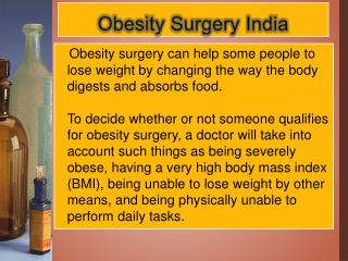 Best Obesity Surgeons Delhi - Obesity Surgery India