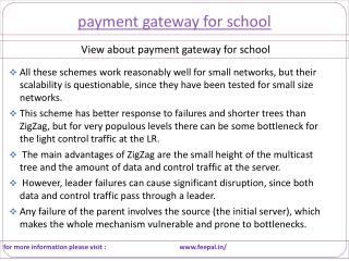 Best website play important role for payment gateway for sch