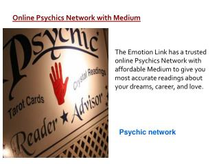 Online Psychics  Medium