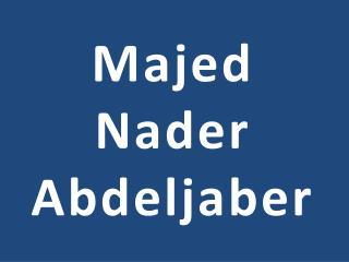 Majed Nader Abdeljaber