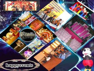 Event manager, Theme wedding planner | Happy Events