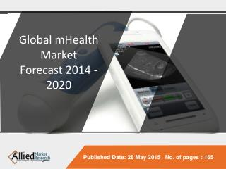 Global mHealth Market Forecast 2014 - 2020