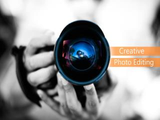 Creative Photo Editing Services