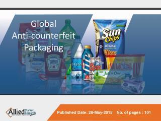 Global Anti-counterfeit Packaging Market