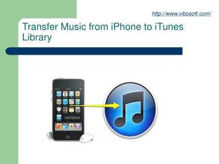 Transfer Music from iPhone to iTunes Library