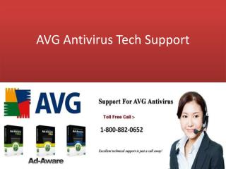 AVG Antivirus Tech Support Number 1-800-882-0652 USA/CANADA