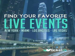 Find Upcoming Local Events and Buy & Sell Tickets Online