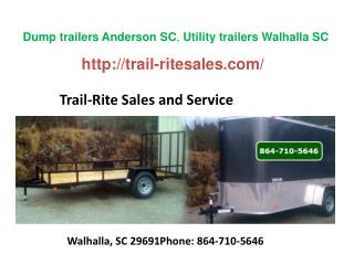 Trailers Easley SC, Trailers Greenville SC, Trailers Anderso