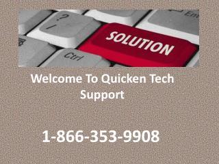 |1-866-353-9908| Quicken Upgrade help