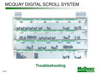 MCQUAY DIGITAL SCROLL SYSTEM