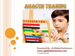 PPT on Abacus Training