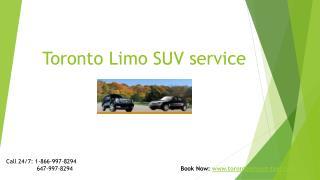 Toronto airport Limo SUV service