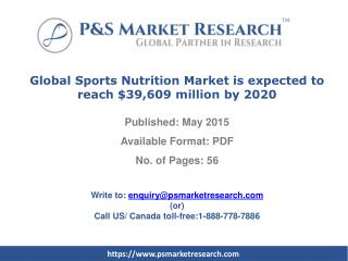 Global Sports Nutrition Market