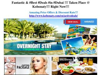 Deals In Dubai
