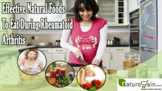 Effective Natural Foods To Eat During Rheumatoid Arthritis