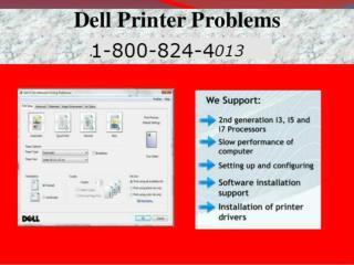 1-800-824-4013 Dell Support Phone Number\Dell Printer Techni