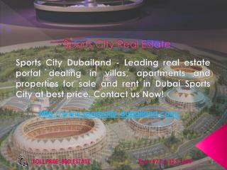 Sports City Real Estate Dubailand