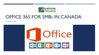 Office 365 for SMBs in Canada