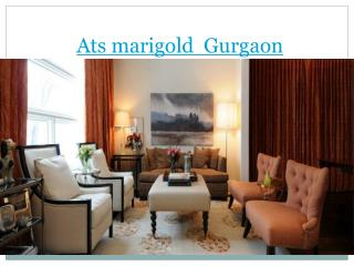 Ats marigold  Gurgaon,flats in sector 89a gurgaon