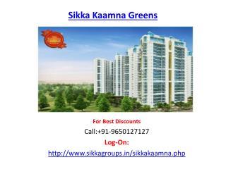 Sikka Kaamna Greens Housing Project-Sector 143 Noida