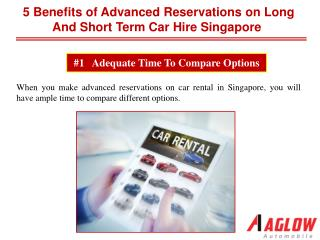 5 benefits of advanced reservations on long and short term c