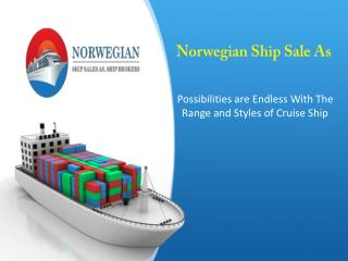 Possibilities Are Endless With The Range Of Cruise Ship