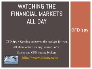CFD spy
