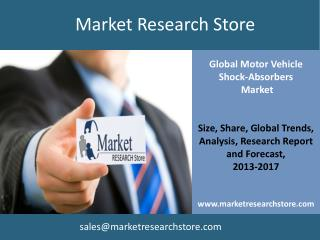 Global Market for Motor Vehicle Shock-Absorbers to 2017