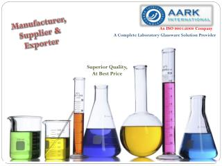 Laboratory & Scientific Glassware  Supplier