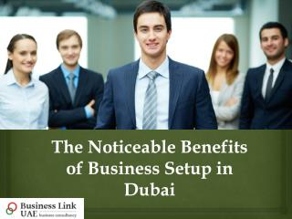 Noticeable Benefits of Business Setup in Dubai