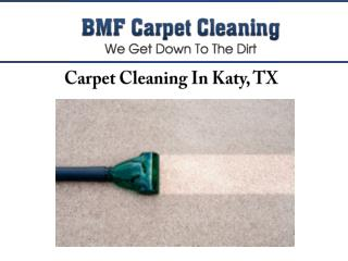 Carpet Cleaning In Katy, TX