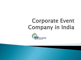 Corporate Event Company in India