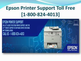 Epson Printer Support Toll Free 1-800-824-4013 | Helpline Nu