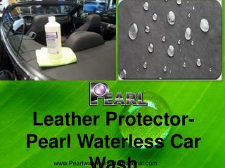 Leather Protector- Pearl Waterless Car Wash