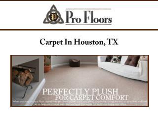 Carpet In Houston, TX