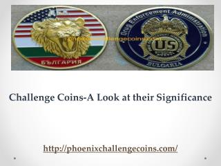 Challenge Coins-A Look at their Significance