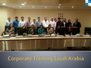 Corporate Training Saudi Arabia