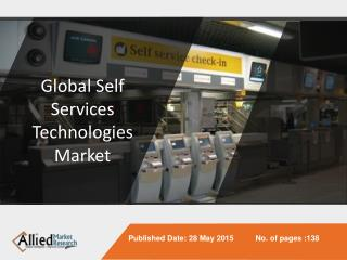 Global Self Services Technologies Market (ATM Machines, Kios