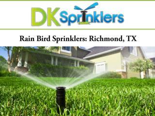 Rain Bird Sprinklers: Richmond, TX
