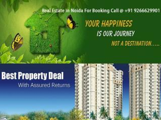 Real Estate in Noida-India's Hot Location for Residence