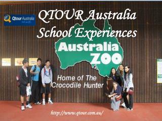 QTOUR Australia – School Experiences