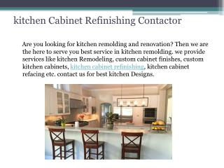 kitchen cabinet refinishing contractor San Macros