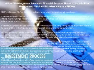 Waldorf-Harding-Associates.com Financial Services Moves