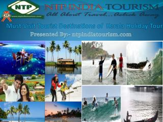 Book Kerala Tour & Holiday  Package