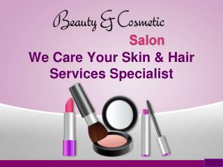 Introduction to Beauty & Cosmetic Salon