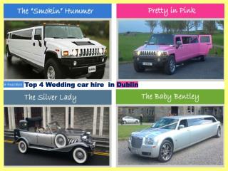 Top 4 Wedding car hire  in Dublin